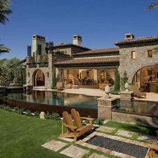 Mediterranean Exterior by Eldorado Stone