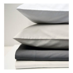 Area - Pearl Fitted Sheet - The bed linens are from a company called Area out of New York. Their products are designed by Anki Spets, with carefully chosen colors, one of a kind patterns and subtle details to create unique options.
