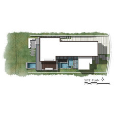 Modern Site And Landscape Plan by Horst Architects