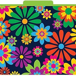 Italy Decorative File Folders, Letter, 3 Tab, Set of 12 - These wild files will make such an impact for just a little over $10!