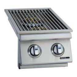 Bull BBQ - Bull Outdoor Slide-In Double Side Natural Gas Burner - Natural Gas