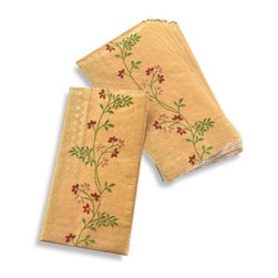 Croscill - Croscill 14K Guest Towel - These guest towels are beautiful and versatile. Use them as guest towels in a bathroom or as buffet napkins when you entertain.