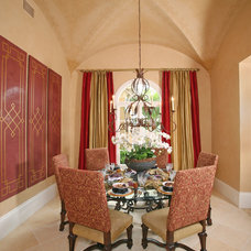 Mediterranean Dining Room by Naples Kitchen and Bath