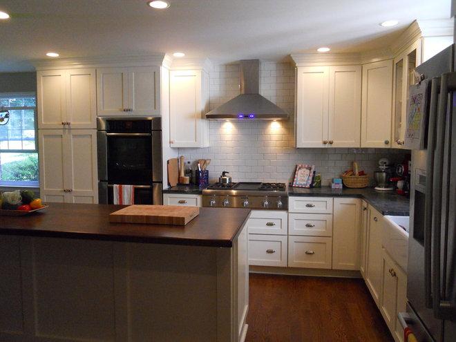 Farmhouse Kitchen by Andersen Design Group
