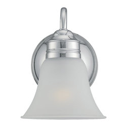 Sea Gull Lighting - Sea Gull Lighting 44850-05 Gladstone Chrome Wall Sconce - Sea Gull Lighting 44850-05 Gladstone Chrome Wall Sconce