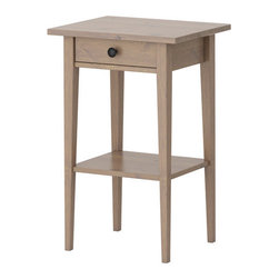 Nike Karlsson - HEMNES Nightstand - Nightstand, gray-brown