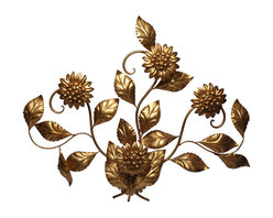 Italian Floral Sconce - You can never go wrong with a classic Italian floral wall sconce.