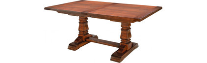 Provincial Cottage Table with Breadboard Ends