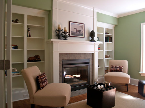 Traditional Indoor Fireplaces by Showroom Partners