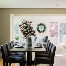 Contemporary Dining Room by Venegas and Company