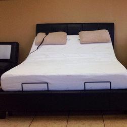 Queen Size Adjustable Bed + Plattform + Memory Foam Mattress - I have for Sale 5 ADJUSTABLE POWER BED. QUEEN SIZE