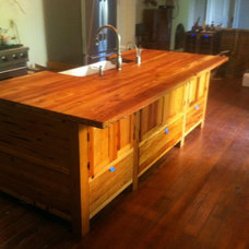 Traditional Kitchen Islands And Kitchen Carts by Randy Johnson Custom Furniture