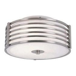 Trans Globe Lighting - Trans Globe Lighting 10040 BN Flushmount In Brushed Nickel - Part Number: 10040 BN