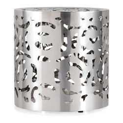 ZUO - Kihei Stool - Every home needs a Kihei Stool. Random yet harmonious, its functional stainless steel design can be used as seating or a table. Keep in the living room as a home for stray drinks or seating for extra guests.