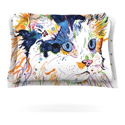 "Kess InHouse - Rebecca Fischer ""Sophia"" Pillow Sham (Cotton, 30"" x 20"") - Pairing your already chic duvet cover with playful pillow shams is the perfect way to tie your bedroom together. There are endless possibilities to feed your artistic palette with these imaginative pillow shams. It will looks so elegant you won't want ruin the masterpiece you have created when you go to bed. Not only are these pillow shams nice to look at they are also made from a high quality cotton blend. They are so soft that they will elevate your sleep up to level that is beyond Cloud 9. We always print our goods with the highest quality printing process in order to maintain the integrity of the art that you are adeptly displaying. This means that you won't have to worry about your art fading or your sham loosing it's freshness."