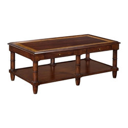 EuroLux Home - New Long Rectangular Coffee Cocktail Table - Product Details