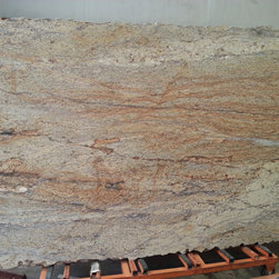 Granite Slabs - Yellow River Leathered