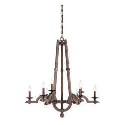 Savoy House - Berwick 9 Light Wood Chandelier - Savoy House Introduces Berwick , A Stunning Collection In Distressed Wood With Precious Metal Accents That Is On Trend Without Being Trendy. The Clean Lines Are Simultaneoulsy Rustic And Modern Creating An Elegant And Relaxed Ambiance. Available In A Five Light Chandelier, A Nine Light Chandelier, And Two Beautiful Open Frame Pendants.
