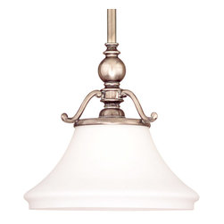 Hudson Valley Lighting - Hudson Valley Lighting 7821-HN Orchard Park 1 Light Pendants in Historic Nickel - This 1 light Pendant from the Orchard Park collection by Hudson Valley Lighting will enhance your home with a perfect mix of form and function. The features include a Historic Nickel finish applied by experts. This item qualifies for free shipping!