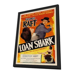 Loan Shark 11 x 17 Movie Poster - Style A - in Deluxe Wood Frame - Loan Shark 11 x 17 Movie Poster - Style A - in Deluxe Wood Frame.  Amazing movie poster, comes ready to hang, 11 x 17 inches poster size, and 13 x 19 inches in total size framed. Cast: Paul Stewart