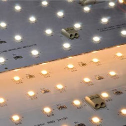 Back-lit LED Modules - These American made LED modules are perfect for backlighting stone or as being their own light source. With a life of over 120,000 hours we warranty them for 7 years.