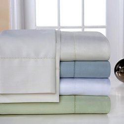None - Pima Cotton 800 Thread Count Hemstitch Deep Pocket Sheet Set - Make bedtime even more enjoyable with this upscale deep pocket sheet set. Made from soft pima cotton,this luxurious set feels like an indulgent treat after a long day. The set comes in four different colors,making it easy to find your new favorite.