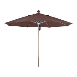 California Umbrella - 9 Foot Olefin Fabric Stainless Steel Single Piece Pole Market Umbrella - California Umbrella, Inc. has been producing high quality patio umbrellas and frames for over 50-years. The California Umbrella trademark is immediately recognized for its standard in engineering and innovation among all brands in the United States. As a leader in the industry, they strive to provide you with products and service that will satisfy even the most demanding consumers.