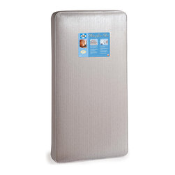 Kolcraft - Sealy Baby Firm Rest Crib Mattress - Your baby will get a good nights sleep with this baby crib mattress from Sealy. Vertical support bars to help to evenly distribute babys weight,and interlocking steel coils for strength and durability will help your baby to sleep comfortably.