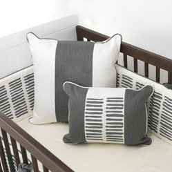 Crib Sheet, Soft White (Goes with Sticks Bed Set)