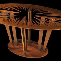 Sunshine Revealed Pedestal Table Base - Sunshine Revealed