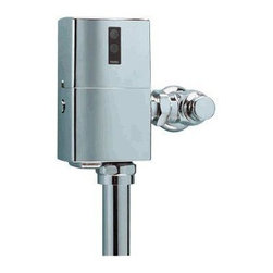 """TOTO - TOTO TET6GNC-32 EcoPower Toilet Flushometer Valve - 1.6 GPF (24"""" V.B.), Polished - TOTO TET6GNC-32 EcoPower Toilet Flushometer Valve - 1.6 GPF (24"""" V.B.), Polished Chrome When it comes to Toto, being just the newest and most advanced product has never been nor needed to be the primary focus. Toto's ideas start with the people, and discovering what they need and want to help them in their daily lives. The days of things being pretty just for pretty's sake are over. When it comes to Toto you will get it all. A beautiful design, with high quality parts, inside and out, that will last longer than you ever expected. Toto is the worldwide leader in plumbing, and although they are known for their Toilets and unique washlets, Toto carries everything from sinks and faucets, to bathroom accessories and urinals with flushometers. So whether it be a replacement toilet seat, a new bath tub or a whole new, higher efficiency money saving toilet, Toto has what you need, at a reasonabl"""