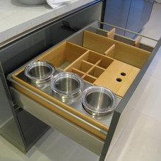 Modern Kitchen Drawer Organizers by Clever Storage by Kesseböhmer