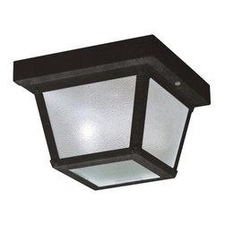 Kichler Lighting - KICHLER 365BK New Street Transitional Flush Mount Ceiling Light (Pack of 12) - Sold in pack of 12