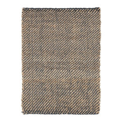Country Living - Country Living Country Jutes Rug X-85-1302JTC - Another inspired ensemble from Country Living, the Country Jutes Collection exemplifies the essence of casual style. Hand-woven from all natural jute in monochromatic shades of beige, each rug combines fibers to create a variety of patterns that exude a simple elegance ideal for traditional to transitional interiors.