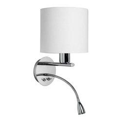 Dainolite - Dainolite DLED410-W-PC LED 2 Light Wall Sconce - Features: