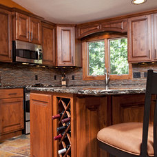 Rustic Kitchen Cabinets by The Cabinet Store