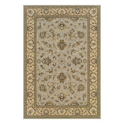 "Oriental Weavers - Sphinx Ariana 2153B Indoor Polypropylene Area Rug 5'3"" x 7'9"" - Ariana is a fabulous million-plus point rug with an incredible hand. The colorations of ancient Persia have been updated and given the look and feel of a true handmade collector's rug with today's hottest fashion colors. The styles represent a cross-section of the best in traditional styling and craftsmanship. Ariana's oriental patterns in clean, crisp colors give the unique combination of Old World styling and today's updated colorations. Machine-made of 100% polypropylene."