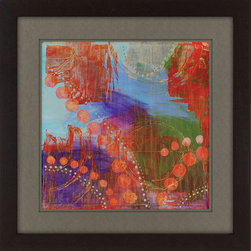 Paragon Decor - Carnivale II Artwork - Exclusive Hand Painted on Foil Embossment