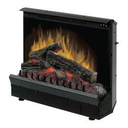 Dimplex - Dimplex DFI230106A Electric Flame Fireplace Insert - Capture the charm and warmth of open flame with this cozy fireplace insert.  Fits most fireboxes with masonary or steel lining.