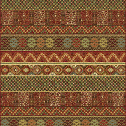 """Dynamic Rugs - Dynamic Rugs Heritage 89386-1232 (Multi) 7'10"""" x 10'10"""" Rug - This Machine Made rug would make a great addition to any room in the house. The plush feel and durability of this rug will make it a must for your home. Free Shipping - Quick Delivery - Satisfaction Guaranteed"""