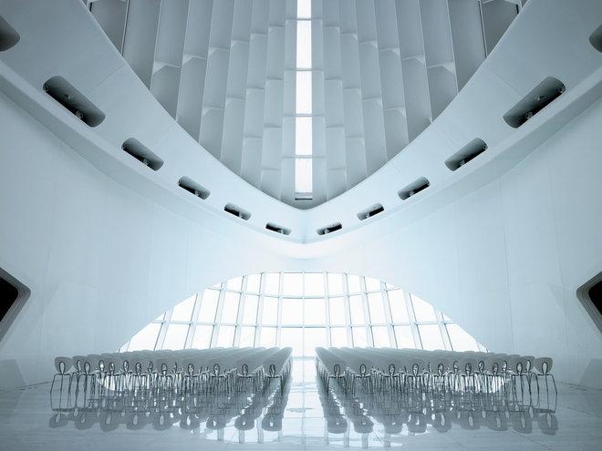Modern  Milwaukee Art Museum / Quadracci Pavilion