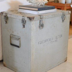 Rare Finds - Ammunition Trunk – A pair of vintage US Army ammunition trunks, your own piece of history.