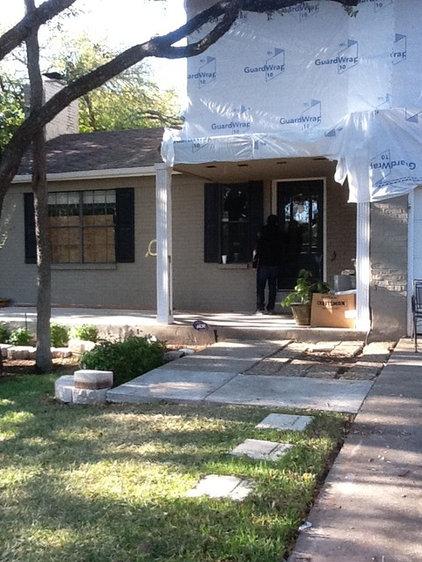 BEFORE Austin Zen-like home