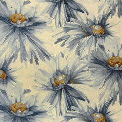 Home Decor GH Rainwater Blues Decorator Fabrics - Home Decor Fabric