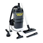 Shop Vac - Ind Back Pack Vac - Industrial  Commercial quality back pack vac 2.0 peak HP 7 qt capacity includes harness system. Color: Black  This item cannot be shipped to APO/FPO addresses. Please accept our apologies.