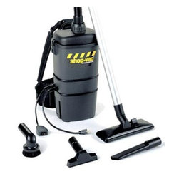 Shop Vac - Industrial Back Pack Vacuum - Industrial Commercial quality back pack vac 2.0 peak HP 7 Qt capacity includes harness system.
