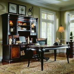 Hooker Preston Ridge Writing Desk with Options - Not available for sale in, or delivery to, the state of California.