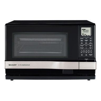 Steam Wave, 1.0 Cu. Ft Steam, Grill, Microwave, 900W, Silver Handle ...