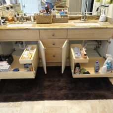 bathroom storage by ShelfGenie of New Jersey