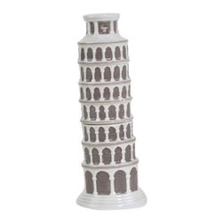 Westland - 5 Inch Italian Leaning Tower of Pisa Salt and Pepper Shakers - This gorgeous 5 Inch Italian Leaning Tower of Pisa Salt and Pepper Shakers has the finest details and highest quality you will find anywhere! 5 Inch Italian Leaning Tower of Pisa Salt and Pepper Shakers is truly remarkable.